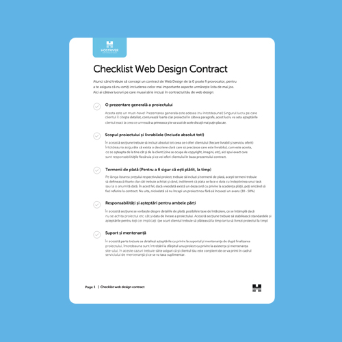contract webdesign